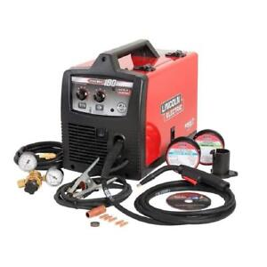 Lincoln Electric Pro Mig 180 Wire Feed Welder K2481 1