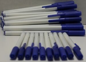 Office Ballpoint Blue Ink Stick Pens Bulk Wholesale Lot Pack Case Pack Of 576