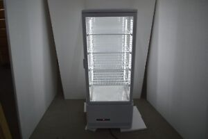 110v Bakery Showcase Commercial Refrigerated Cake Pie Display Cabinet Case New