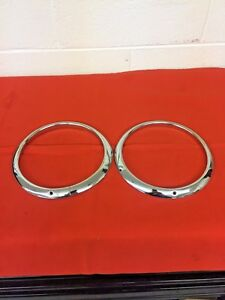 1957 Ford F 100 Headlight Trim Rings