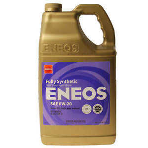 Eneos Fully Synthetic Motor Engine Oil 0w 20 3230 320 5 Quarts