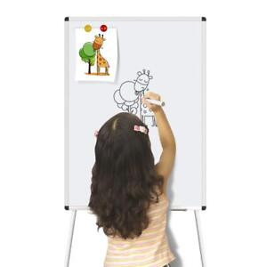 Dry Erase Board 24x36inch Magnetic White Board With Tripod Stand Adjustable