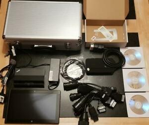 Diagnostic Laptop Scania Daf Iveco Man Volvo Truck Lorry Scanner Kit Interface