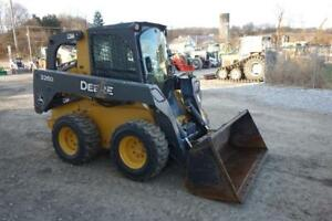John Deere 326d Skid Steer Loader Erops Heat ac 70 Hp Diesel 2 Spd 1738 Hrs