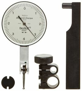 Brown Sharpe 599 7023 3 Dial Test Indicator Set Top Mounted M1 4x0 3 Thread