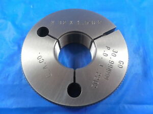 M32 X 1 5 6g Metric Thread Ring Gage 32 0 Go Only P d 30 994 Inspection Tool