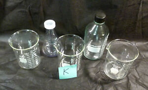 3x Heavy Duty1000ml Pyrex Beakers Wheaton Bottle 500 Ml Nalgene Flask