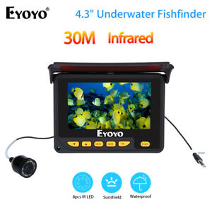EYOYO 30M Underwater Video Fishing Camera Fish Finder 4.3