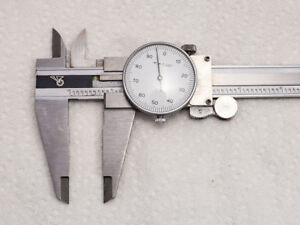 12 Dial Caliper Chinese made Hardened Stainless Steel Construction W Box
