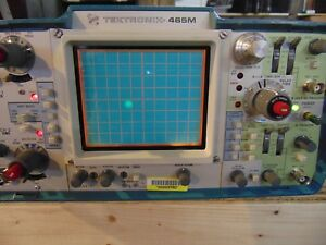 Tektronix 465m Oscilloscope With Accessories See Pictures