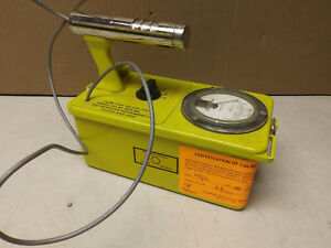 Victoreen Cdv 700 Model 6 Geiger Counter Calibrated 2011 Serial 13251 Need Work