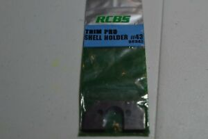 RCBS Trim Pro Case Trimmer Shellholder #43 (223 WSSM 243 WSSM 300 WSM)