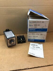Amd sl1 10s ac200 220 Omron New In Box Motion Detector Amdsl110s
