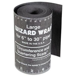 Flange Wizard Ww 17a Large Wrap 120 Long X 5 1 4 Wide Pipe 6 To 30 Diameter