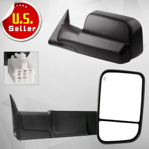Towing Mirrors Power Heated For 1998 2001 Dodge Ram 1500 1998 2002 Ram 2500 3500