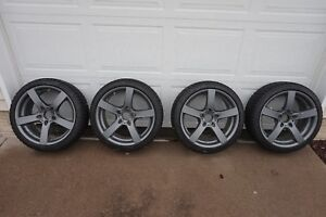 18 Bmw Others Snow Wheels And Tires Set Bridgestone Blizzak Rial Salerno