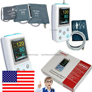 Handheld 24h Ambulatory Blood Pressure Monitor software child adult large Adult