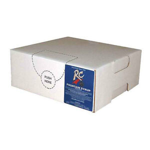 Rc Cola Syrup Concentrate Soda Pop Bag N Box Gallon makes 6 Gallons