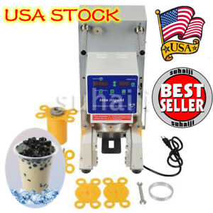 Lbh3 Electric Full Automatic Bubble Tea Cup Sealer Sealing Machine 750 Cups hr