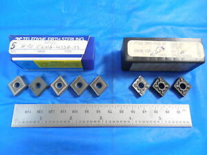 8pcs New Cnmg 432 Carbide Inserts Good For Cast Iron Southbend Lathe Tooling