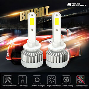 880 881 H27 883 889 899 1650w 247500lm Led Fog Lights Lamp Conversion Kit 6000k