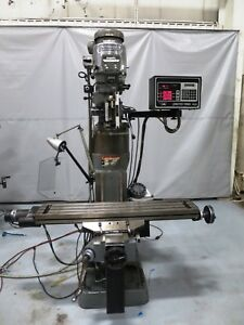 48 X 9 2hp Bridgeport Milling Machine With Proto Trak Plus 2 axis Cnc Control