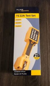 Fluke Networks Ts22a Test Set W bed Of Nails brand New