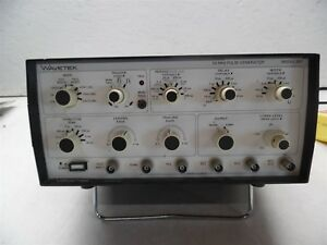 Wavetek 50mhz Pulse Generator Model 801