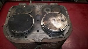 Wisconsin Vh4d Engine Cylinder Block Jug Pistons Aa98 Bobcat 610 4 Cyl 020
