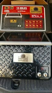 American Farm Works 15 Mile Solar Powered Electric Fence Controller 57 0 0 More