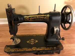 Antique Sewing Machine White Rotary 1923