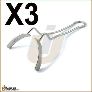 X3 Vestibulum Lip And Cheek Labial Retractors Dental Mouth Opener Retractor Ce