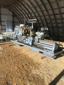 Monarch Steel Lathe With Tooling
