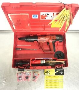 Hilti Dxa41 Actuated Nail 4rs27 Plus Magazine Single Load Head In Case