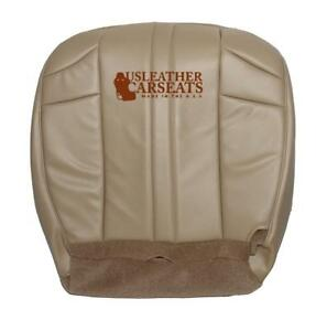 2002 2007 Jeep Grand Cherokee Driver Bottom Synthetic Leather Seat Cover Tan