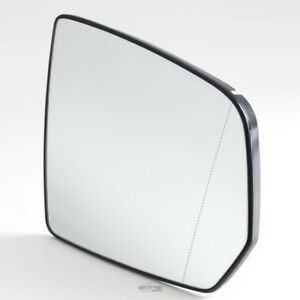 Mirror Glass W plate For Mercedes 2009 2010 Ml Gl Passenger Right Side Heated