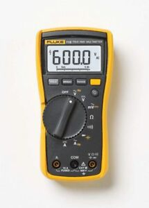 Fluke 115 Digital Handheld Hvac Multimeter True Rms Cat Iii 600 V Uk