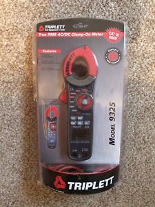 Triplett 9325 True Rms Digital Clamp on Meter With Large Display 0 1000 Amps