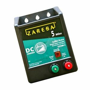 Zareba Edc5m z 5 mile Battery Operated Solid State Electric Free 2 Day Ship