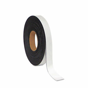 Mastervision Dry Erase Magnetic Tape Roll White 1 X 50 Ft Fm2018