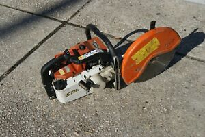 Stihl Ts460 Gas Powered Concrete Cut off Saw In Good Condition