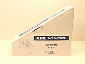 New Uline H 596 Packing Tape Dispenser Gun 3 inch Side Load