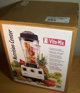 Vita mix Vitamix 5000 Total Nutrition Center Tnc Vm0103 Blender Factory Sealed