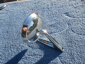Vintage Fomoco 1963 64 Accessory Side Mirror Fairlane Galaxie Mustang