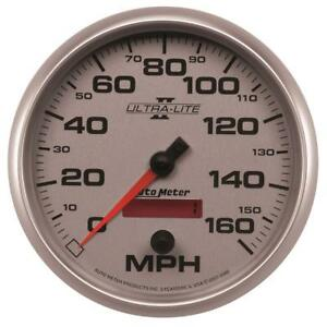 Autometer Ultra lite Ii 5 Inch 160 Mph Fse For Programmable Speedometer Am4989