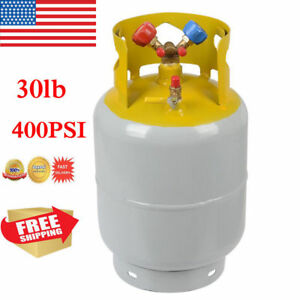 30lb Refrigerant Recovery Cylinder Steel 400 Psi Refrigerant Reclaim Tank Br