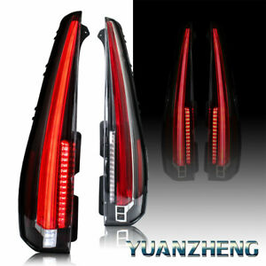 Led Tail Lights For Chevy Tahoe Suburban 2015 2018 Escalade Style Brake Lamps