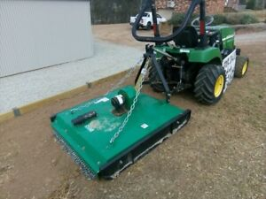 John Deere 2305 25hp Compact Tractor 4wd With New Hayes 4 Slasher