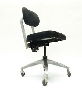 Haskell Of Pittsburgh Industrial Modern Tanker Desk Chair