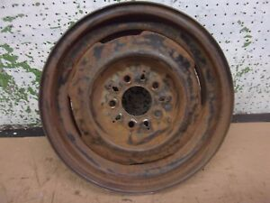 1950 Dodge Car Pickup Wheel 15 15x4 1 2 Rim Truck Plymouth Chrysler 1951 Oem
